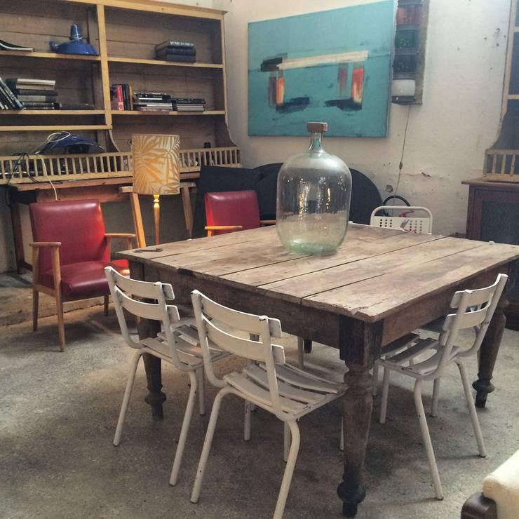 """Stili diversi assieme per creare lo """"stile memoire"""": Cucina in stile in stile Industriale di mémoire"""
