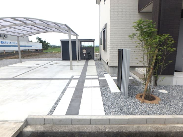 M様邸3: 山野興業 ガーデンスタイルなごみが手掛けたです。