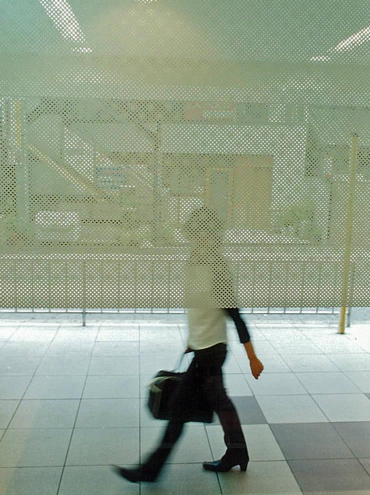 窓ガラス詳細: 堀内総合計画事務所が手掛けたレストランです。