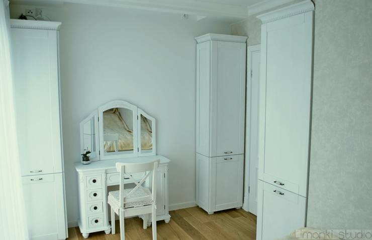 Mieszkanie w stylu klasycznym: styl , w kategorii Sypialnia zaprojektowany przez Limonki Studio Wojciech Siudowski