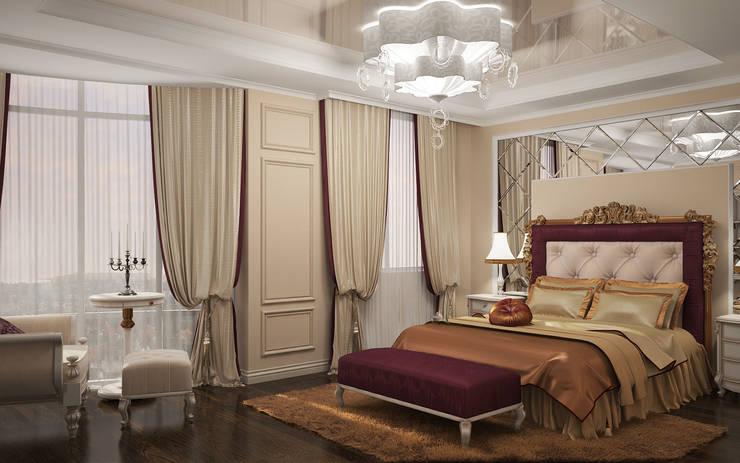 Квартира в Ялте: Спальни в . Автор – Дизайн - студия Пейковых