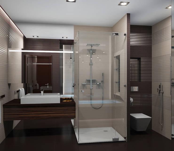 Квартира в Москве: Ванные комнаты в . Автор – Дизайн - студия Пейковых