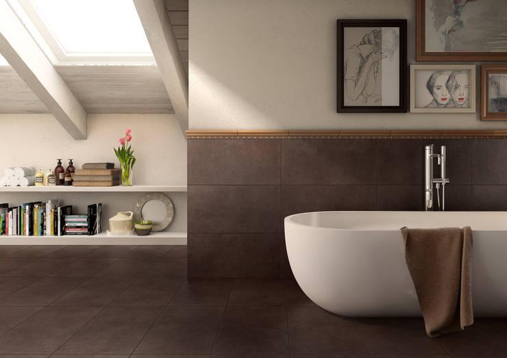 Baños de estilo moderno por MHP media | 3D Rendering