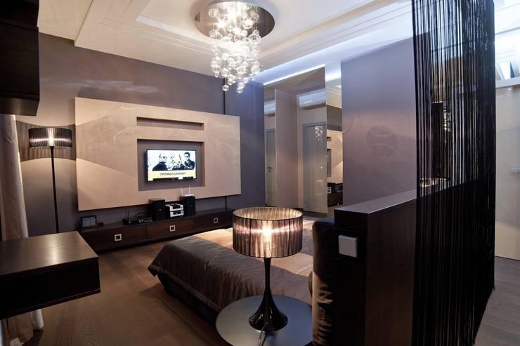 Квартира в Праге: Спальни в . Автор – Дизайн - студия Пейковых