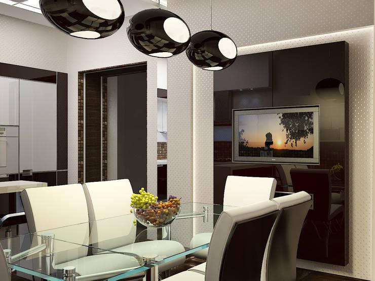 Квартира в Праге: Кухни в . Автор – Дизайн - студия Пейковых