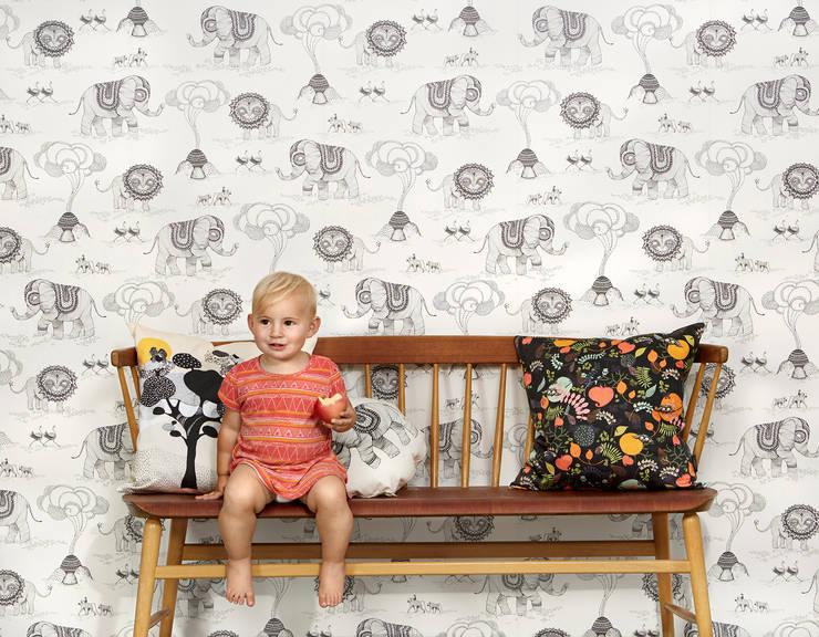Projekty,  Ściany i podłogi zaprojektowane przez Photowall