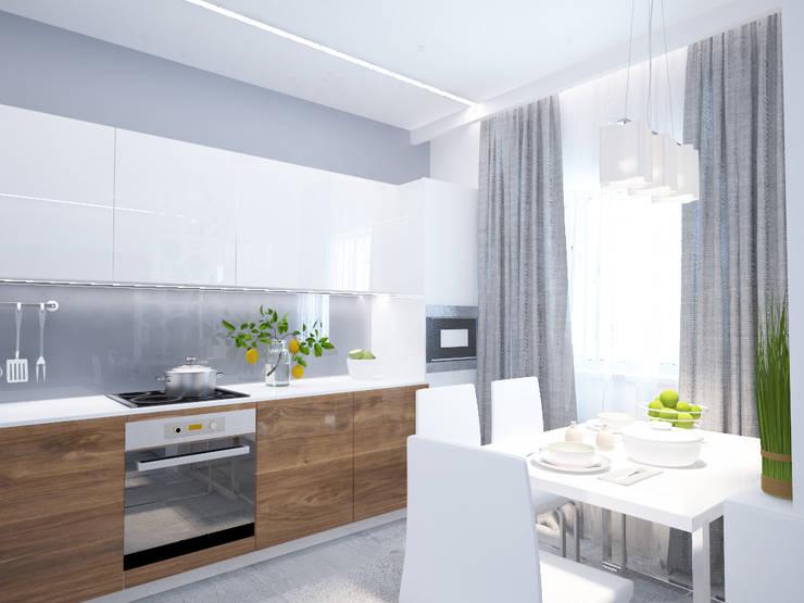 Кухня-гостиная: Кухни в . Автор – mysoul