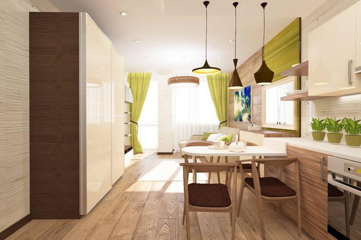 Квартира-студия: Кухни в . Автор – mysoul