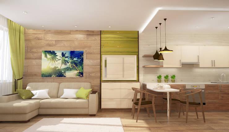 Квартира-студия: Гостиная в . Автор – mysoul