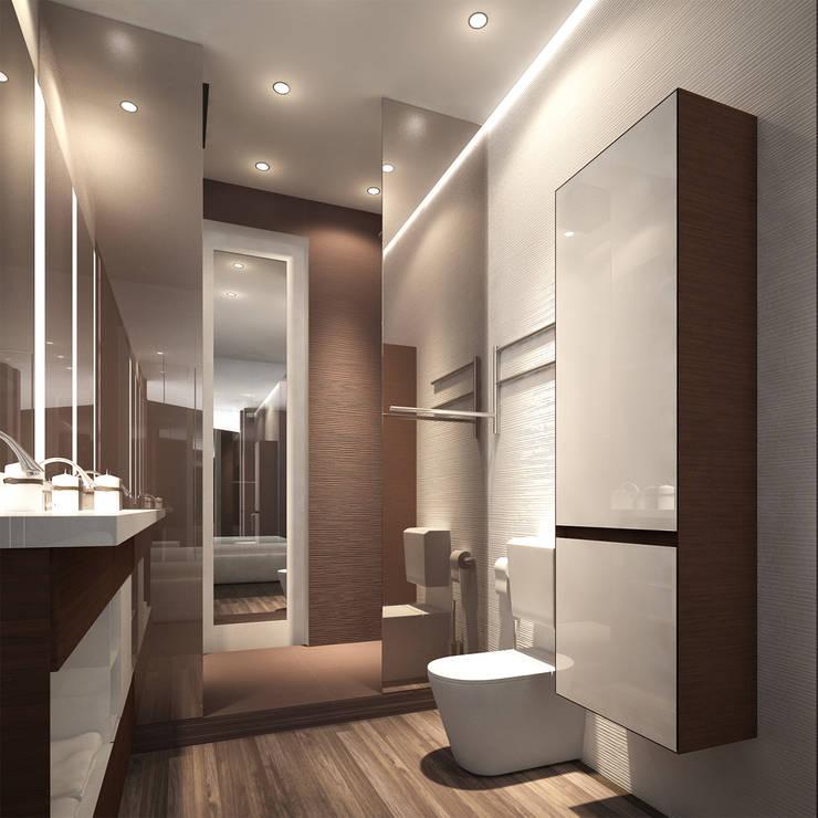 Ванные комнаты в . Автор – ZIKZAK architects
