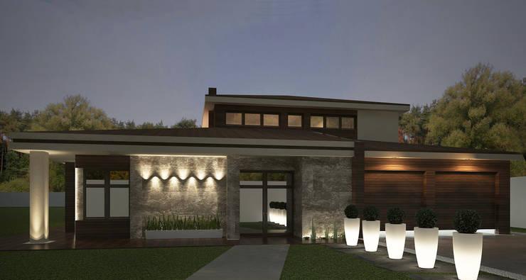 Casas de estilo minimalista por Дизайн - студия Пейковых