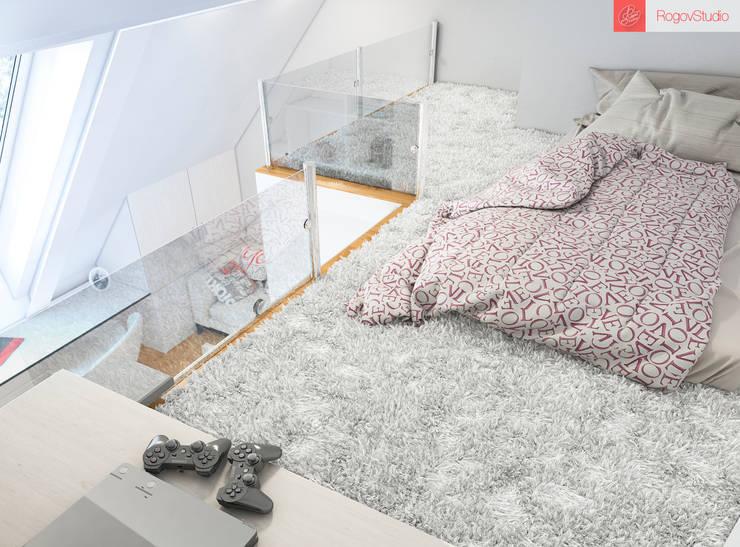 2+1: Детские комнаты в . Автор – RogovStudio, Минимализм