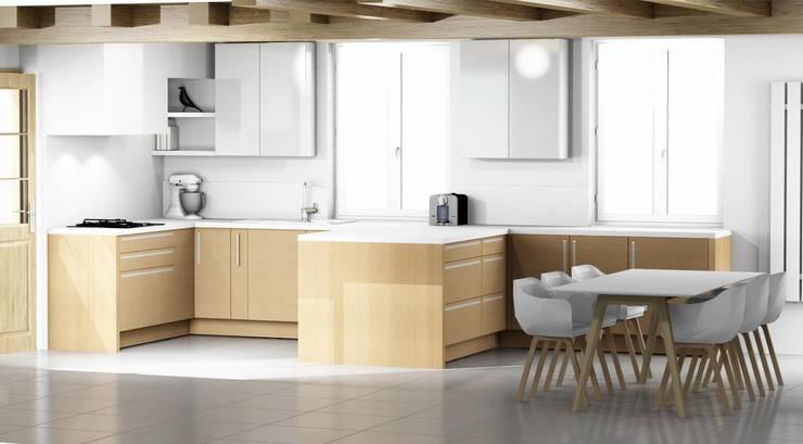 Rénovation complète d\'une cuisine dans une maison ancienne ...