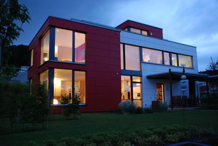 EFH Van den Berg, Neftenbach: moderne Häuser von Binder Architektur AG