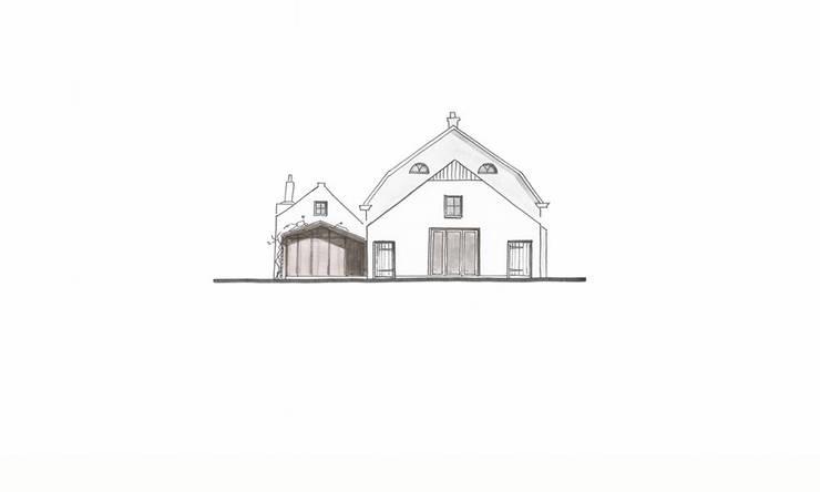 Achtergevel:   door Bos in 't Veld Architecten