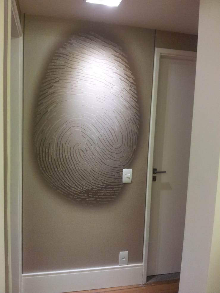 Circulação: Salas de estar  por Ana Adriano Design de Interiores,Eclético
