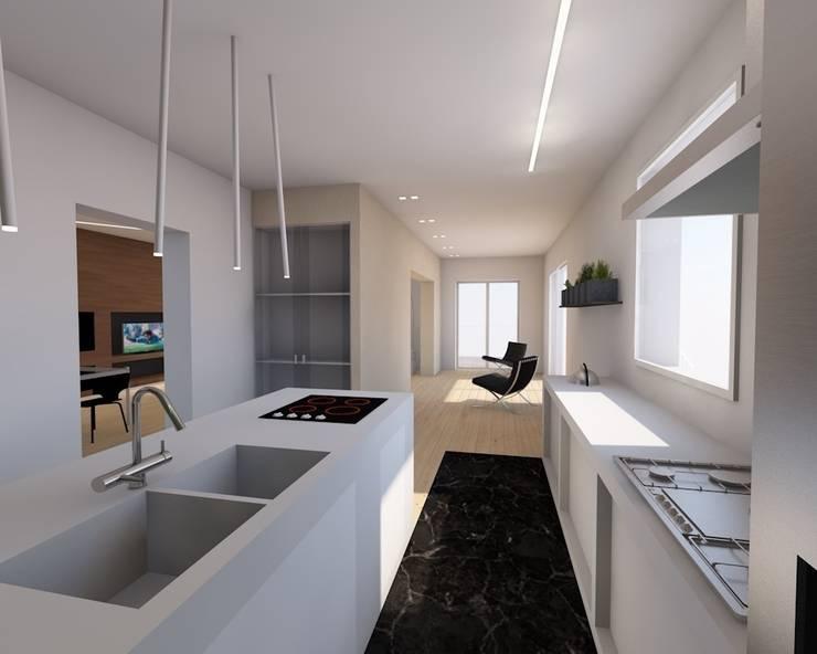 Cozinha  por RDstudioarchitettura - daniele russo architetto