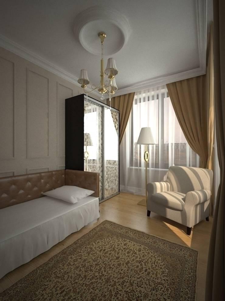 Шик 2: Спальни в . Автор – Дизайн студия Александра Скирды ВЕРСАЛЬПРОЕКТ, Классический
