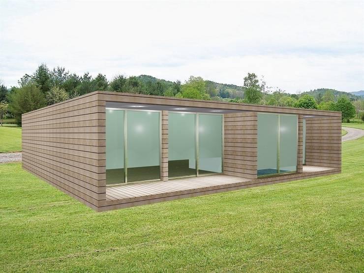 Estudo Modular tipo T3: Casas  por Idealiving