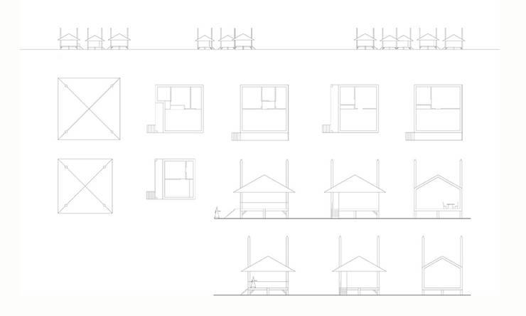 STRIP V.:   door Bos in 't Veld Architecten, Landelijk