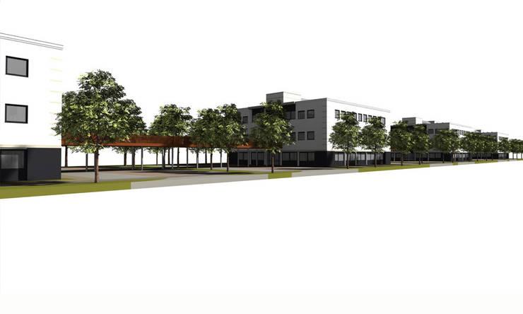 LIFTING GARDENS: modern  door Bos in 't Veld Architecten, Modern