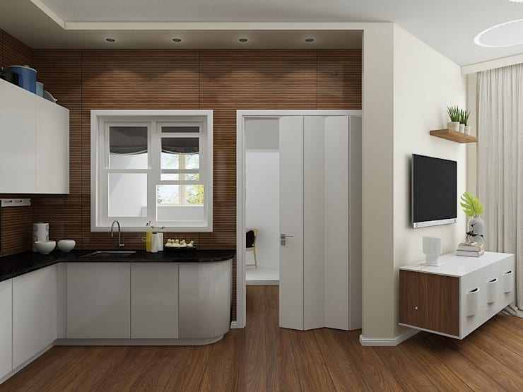 Квартира в ЖК <q>Атлетик Хаус</q>: Кухни в . Автор – EEDS design
