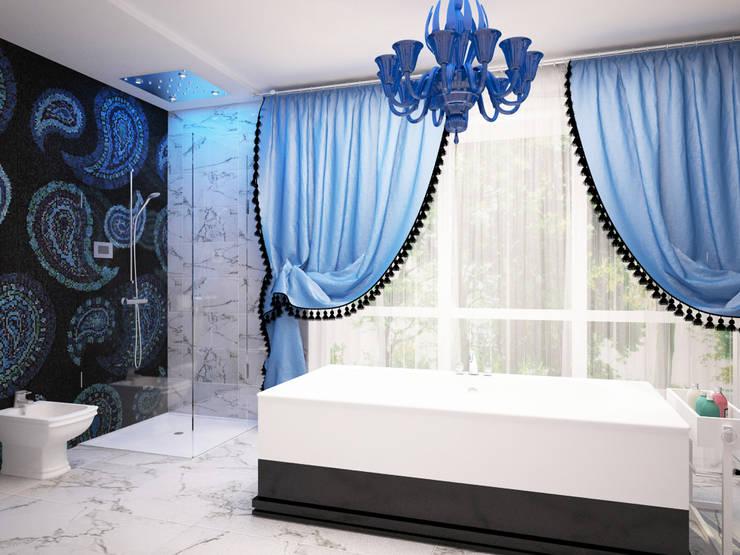Ванная комната.: Ванные комнаты в . Автор – LD design
