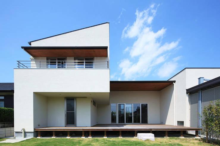 外観1: LiPS DESIGN/(有)フレックスが手掛けた家です。
