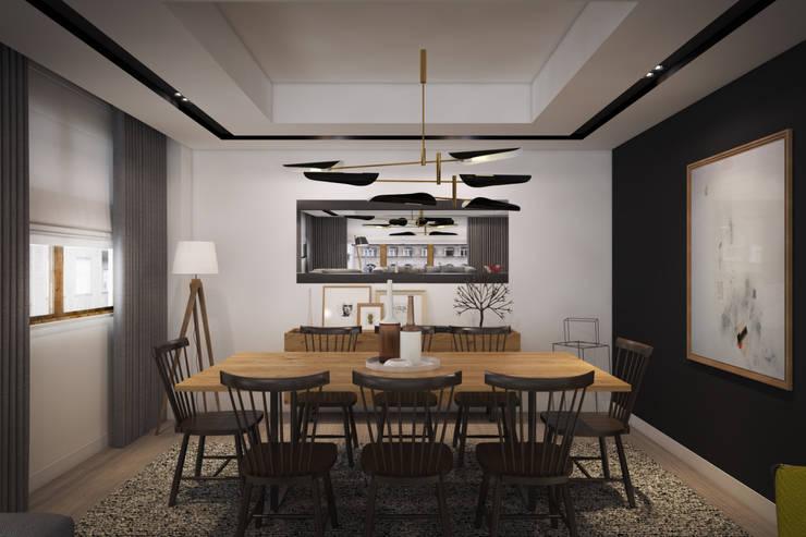 yücel partners – D&S Altaş Home: modern tarz Yemek Odası