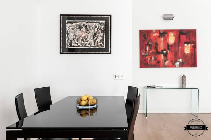 zero6studio San Giovanni: Sala da pranzo in stile  di Paolo Fusco Photo