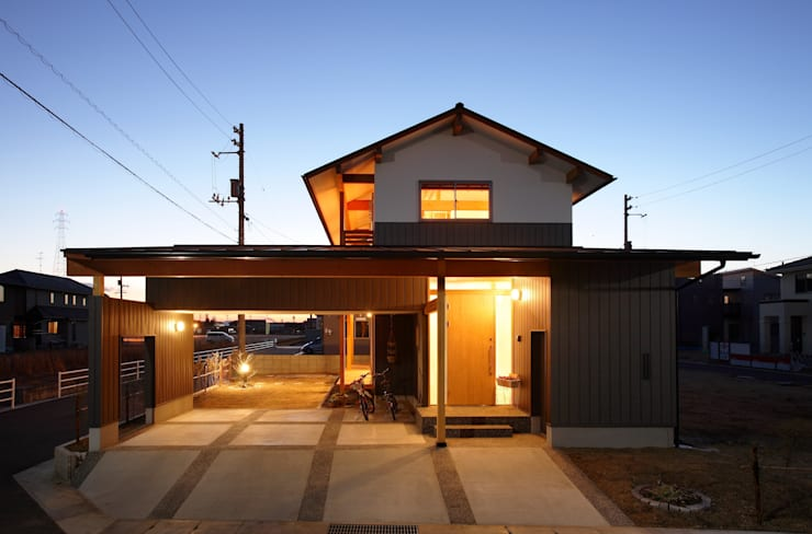 Houses by 三宅和彦/ミヤケ設計事務所, Asian