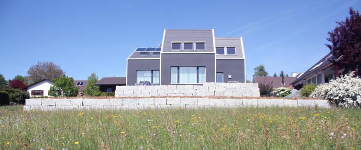 Gartenfassade:  Häuser von wohlgemuth & pafumi | architekten ag