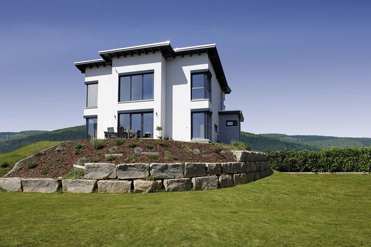 Projekty,  Dom jednorodzinny zaprojektowane przez FingerHaus GmbH