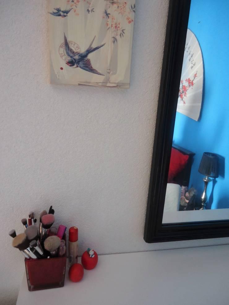 Detailbeeld kaptafel:  Slaapkamer door SisterTime