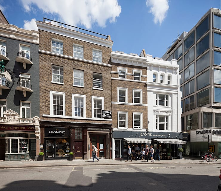 ST MARTIN'S LANE, COVENT GARDEN: classic Houses by E2 Architecture + Interiors