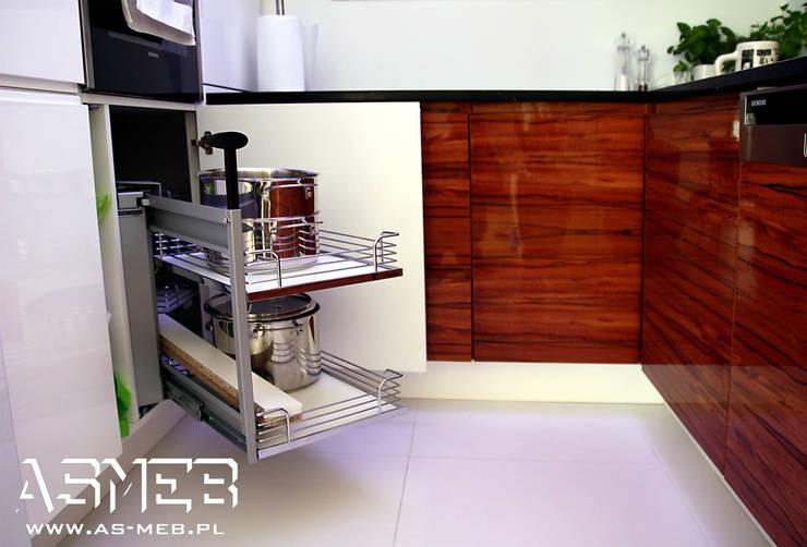 Realizacja Legionowo: styl , w kategorii Kuchnia zaprojektowany przez AS-MEB