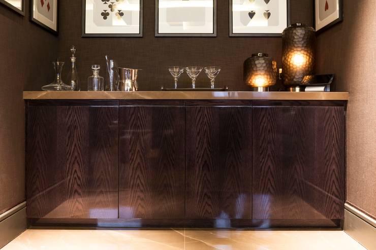 Sala de estar  por Ligneous Designs