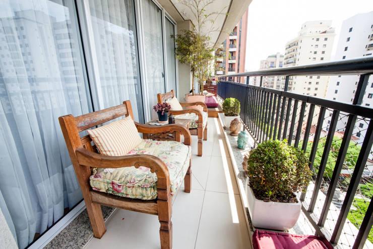 Varanda: Terraços  por Casa 2 Arquitetos