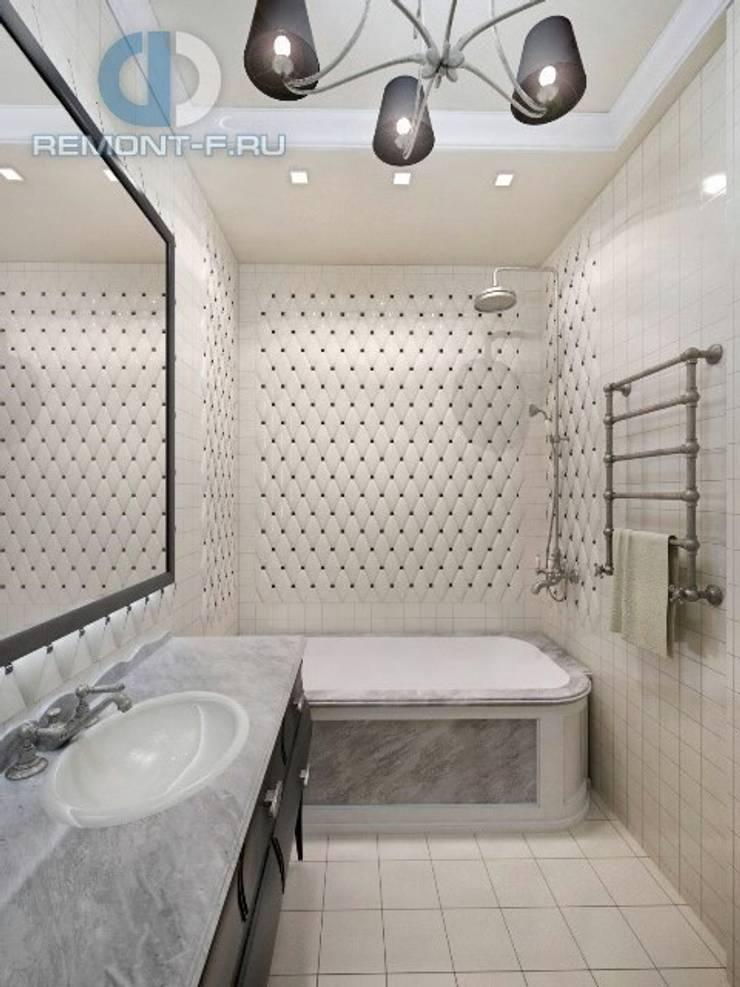 """Дизайн-студия ГК """"Фундамент"""": Ванные комнаты в . Автор – Группа Компаний 'Фундамент'"""