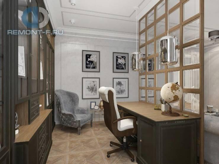 """Дизайн-студия ГК """"Фундамент"""": Рабочие кабинеты в . Автор – Группа Компаний 'Фундамент'"""
