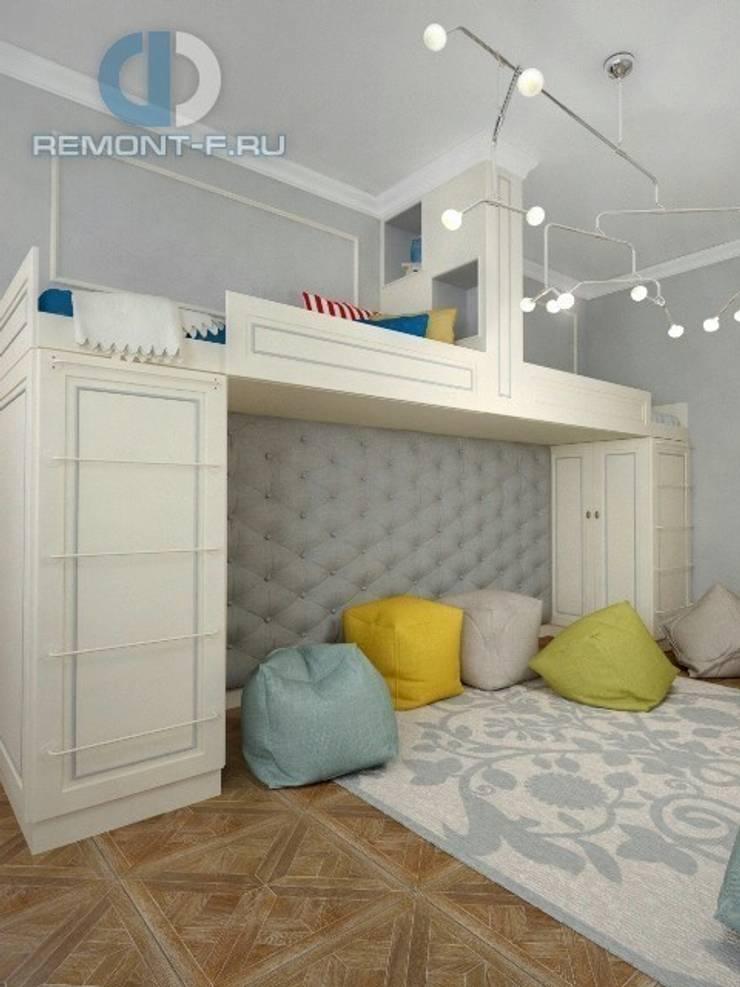 """Дизайн-студия ГК """"Фундамент"""": Детские комнаты в . Автор – Группа Компаний 'Фундамент'"""
