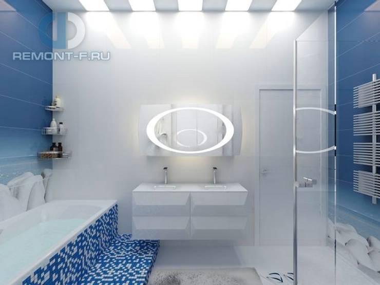"""Студия дизайна ГК """"Фундамент"""": Ванные комнаты в . Автор – Группа Компаний 'Фундамент'"""