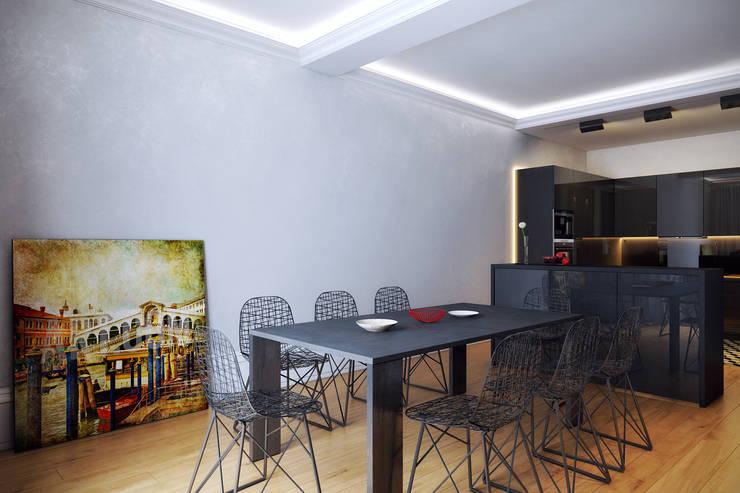 Дом для отдыха в Ялте: Столовые комнаты в . Автор – Перспектива Дизайн
