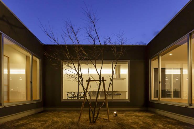 中庭: NEWTRAL DESIGNが手掛けた庭です。
