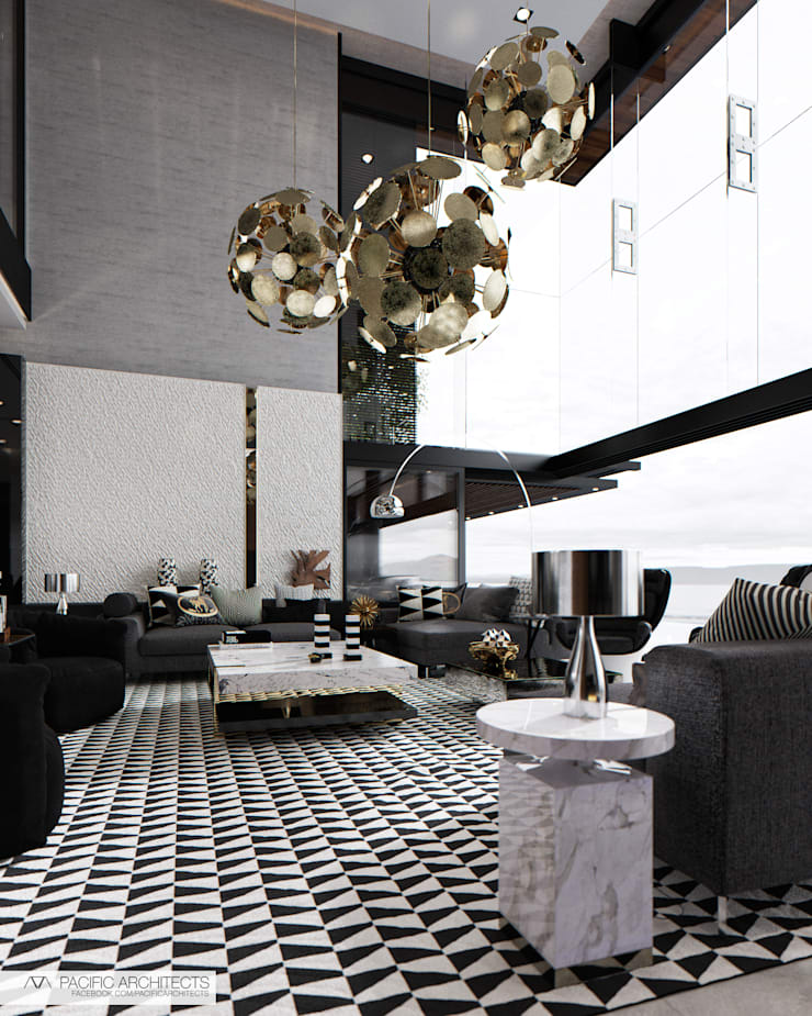 001: Гостиная в . Автор – Aksenova&Gorodkov project