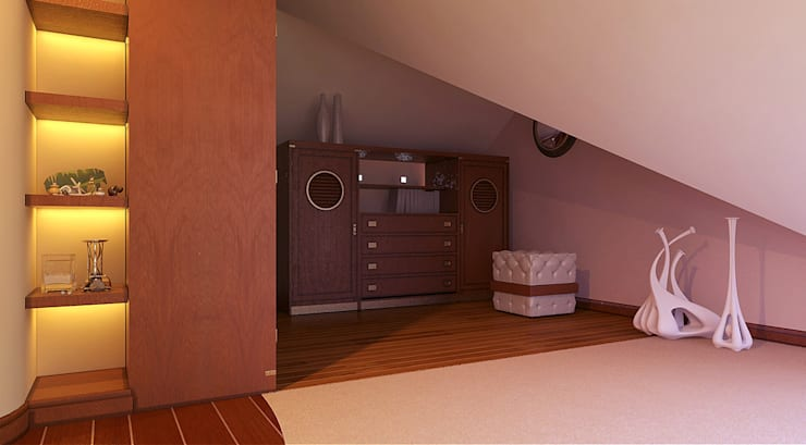 Closets de estilo  por Architoria 3D