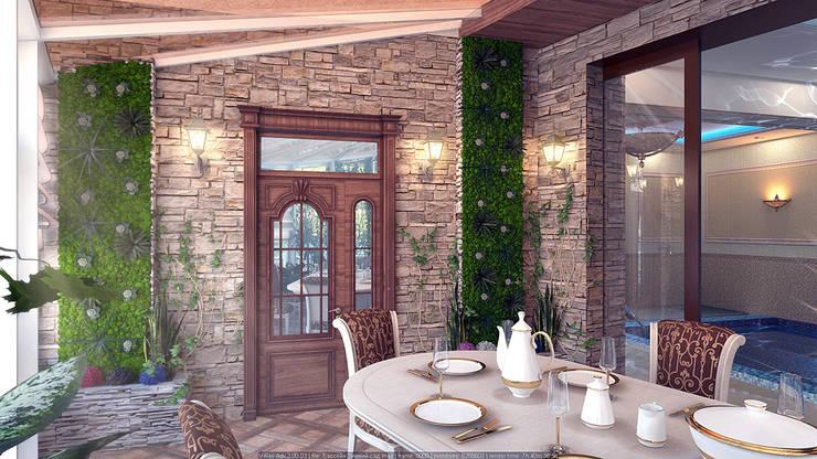 Зимние сады в . Автор – Architoria 3D, Тропический