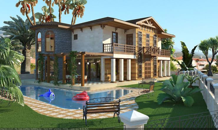 Дома в . Автор – Architoria 3D, Классический