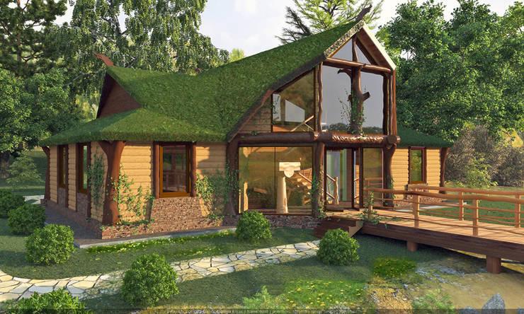 Дома в . Автор – Architoria 3D, Эклектичный