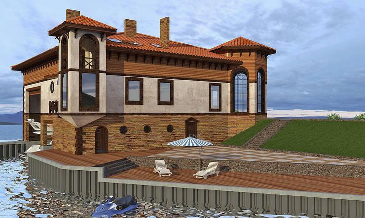 Дома в . Автор – Architoria 3D